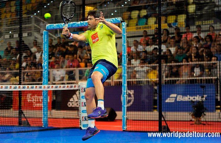 Cristian Gutiérrez, en acción en el Gran Canaria Open 2017