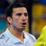 Juan Cruz Belluati, en acción en el Gran Canaria Open 2017
