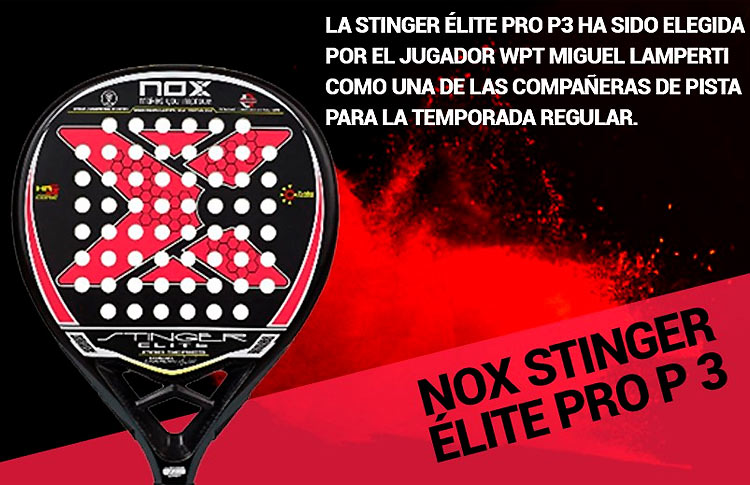 Nox Stinger Elite Pro P3 One Of The Lethal Weapons Of Miguel