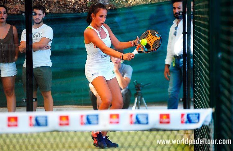 Bea González, en acción en el Sevilla Open 2017