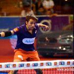 Fernando Belasteguín, en acción en el Sevilla Open 2017