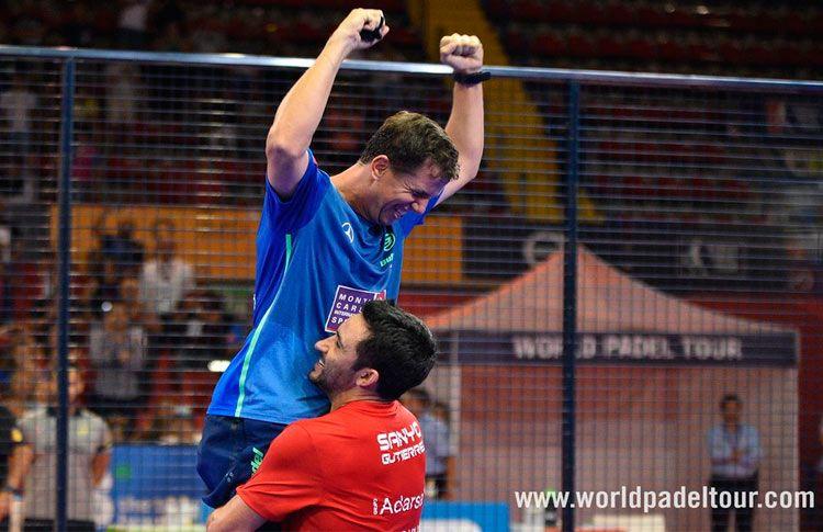 Paquito Navarro-Sanyo Gutiérrez, en acción en el Sevilla Open 2017