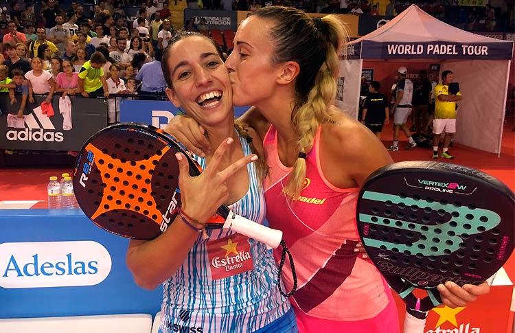 Victoria Iglesias-Teresa Navarro, en acción en el Sevilla Open 2017
