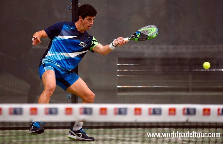 Mauri Andrini, en la Pre-Previa del Zaragoza Open