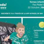 Barcelona espera um novo Torneio Circuito Junior MyPadel por DKV