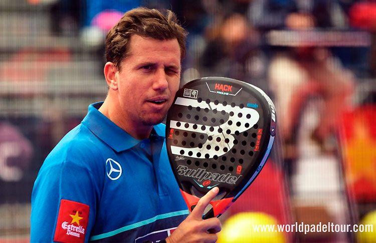 Paquito Navarro, en acción en el Andorra Open 2017