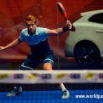 Álex Ruiz, en acción en el Keler Bilbao Open 2017