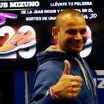 Josep María Aparicio y la apuesta de Mizuno por el pádel