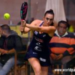 Laura Clergue, en acción en el Keler Bilbao Open 2017