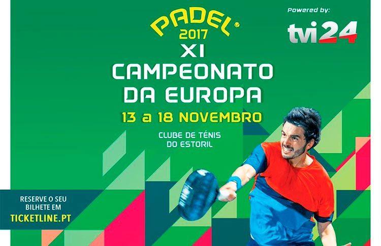 Se acerca el inicio del Campeonato de Europa de Pádel 2017