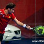 Germán Tamame, en acción en el Keler Bilbao Open 2017
