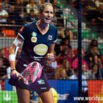 Gemma Triay, en acción en el Zaragoza Open 2017