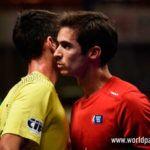Gonzalo Rubio y Javi Garrido, en acción en el Zaragoza Open 2017