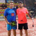Jordi Muñoz y Ernesto Moreno, en acción en el Campeonato de España Absoluto por Parejas 2017