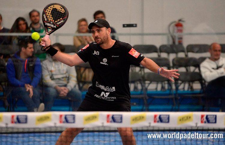 Jordi Muñoz, en acción en el Keler Bilbao Open 2017