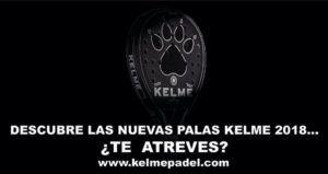 ¿Te atreves a descubrir las nuevas pala de Kelme?