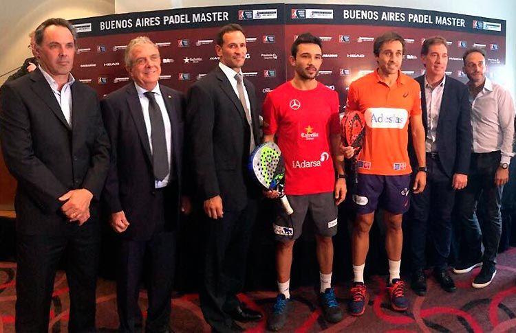 El Buenos Aires Padel Master levanta el telón de manera oficial
