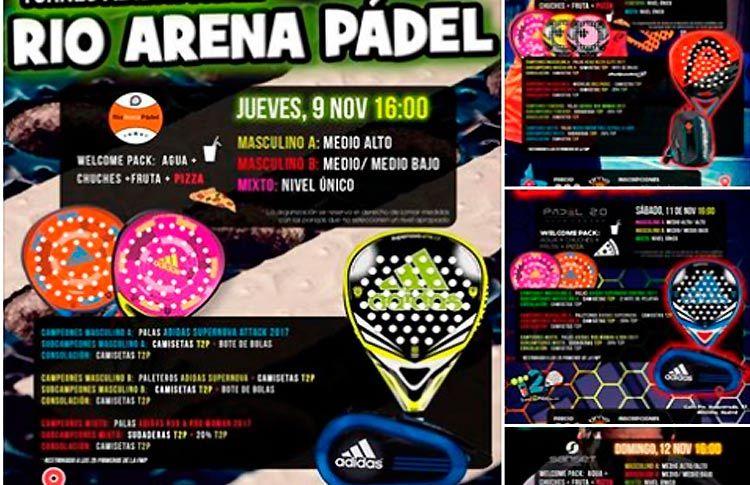Próximos torneos del equipo de Time2Pádel