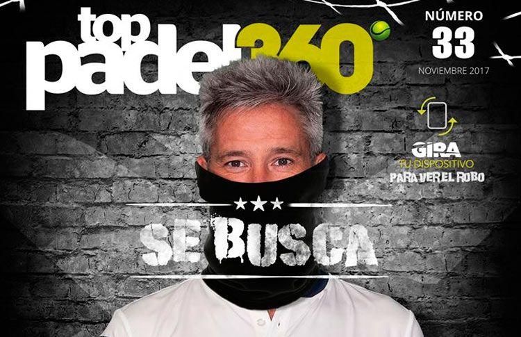 NOX, portada del número 33 de Top Pádel 360