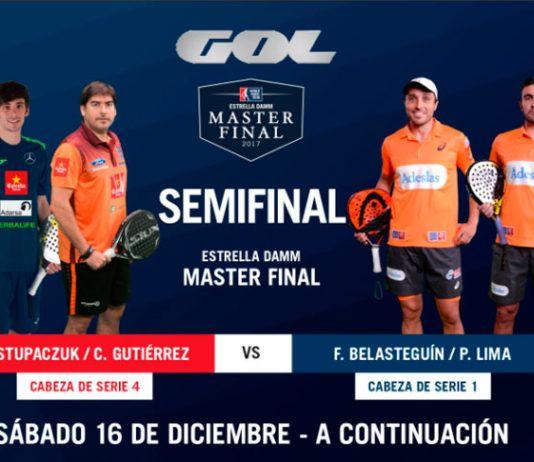 Estrella Damm Másters Finals: Orden de Juego de Semifinales