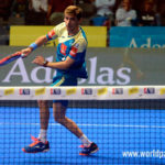 Franco Stupaczuk, en acción en el Keler Bilbao Open 2017