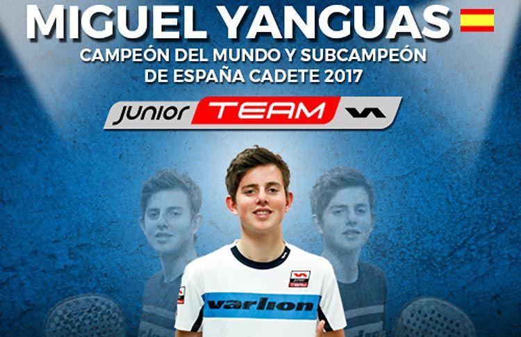 Varlion se refuerza con un Campeón del Mundo Junior: Miguel Yanguas