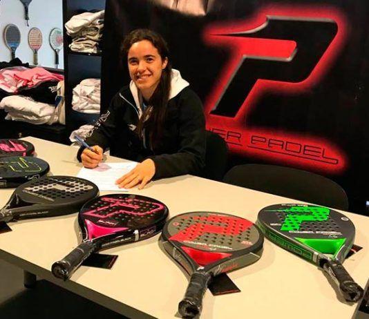 Meli García y Power Pádel renuevan su compromiso