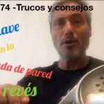 Consejos-Trucos de Miguel Sciorilli (74): La bajada de pared de revés