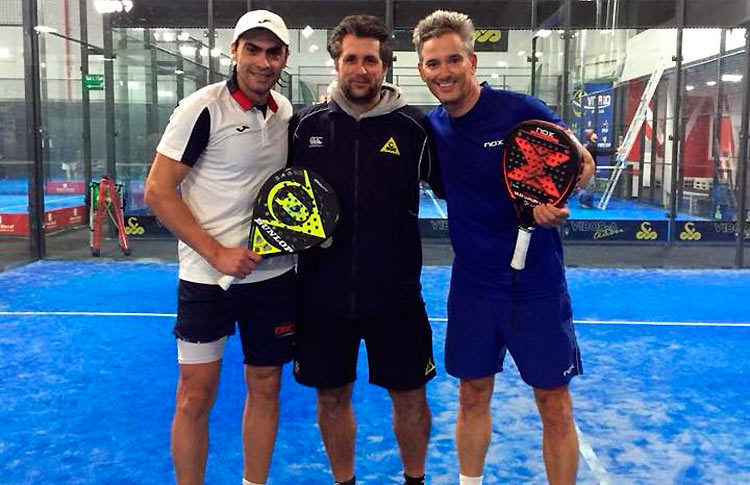 Raul Arias New Coach Of Miguel Lamperti And Juani Mieres Padel