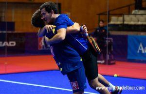 Estrella Damm Catalunya Master 2018: Juan Lebron-Juan Cruz Belluati, en acción