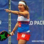 Estrella Damm Alicante Open 2018: Carolina Navarro, en acción (World Padel Tour)