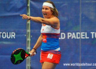 Estrella Damm Alicante Open 2018: Carolina Navarro, en action (World Padel Tour)
