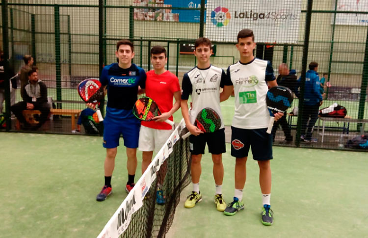 Los jóvenes talento del pádel español mostraron toda su clase en el TyC Premium 2