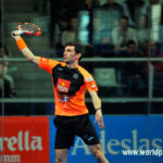 Estrella Damm Alicante Open 2018: Franco Stupaczuk, en acción (World Padel Tour)