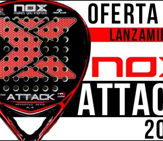 NOX Attack 2018: Una pala exclusiva a un precio inigualable . Gran oportunidad para los jugadores de pádel