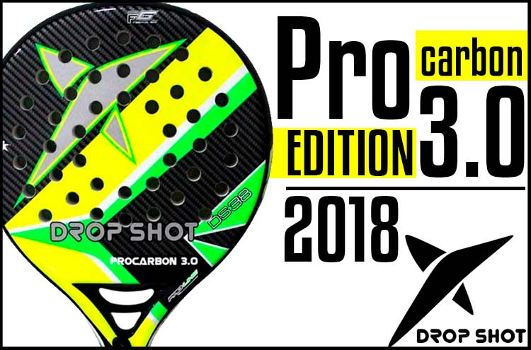 bfb9a6db The last surprise of Paladel Offer: Drop Shot Pro Carbon Edition 3.0 with a  discount