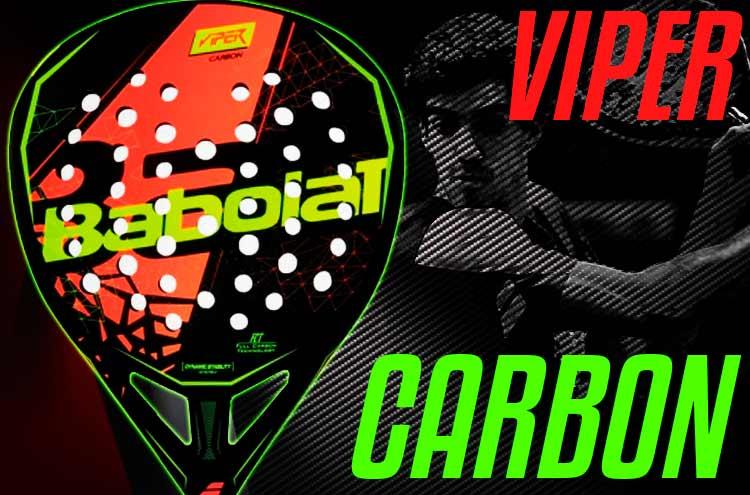 Las Palas de las Estrellas: Babolat Viper Carbon 2018, un auténtico misil para Juan Lebrón
