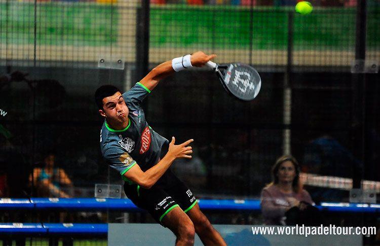 Estrella Damm Zaragoza Open 2'18: José Carlos Gaspar, en acción