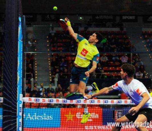 Estrella Damm Zaragoza Open: Maxi Sánchez, en acción