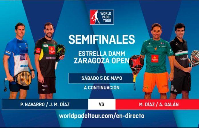 Sigue las semifinales del Estrella Damm Zaragoza Open, EN DIRECTO