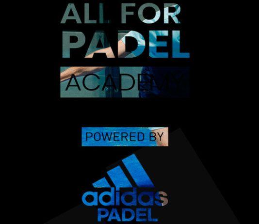 All For Padel Academy: Un espacio de Adidas Padel dedicado a la formación de los profesionales