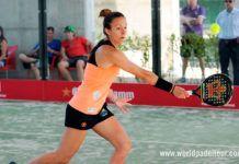 Valladolid Open 2018: Carla Mesa, en acción (World Padel Tour)