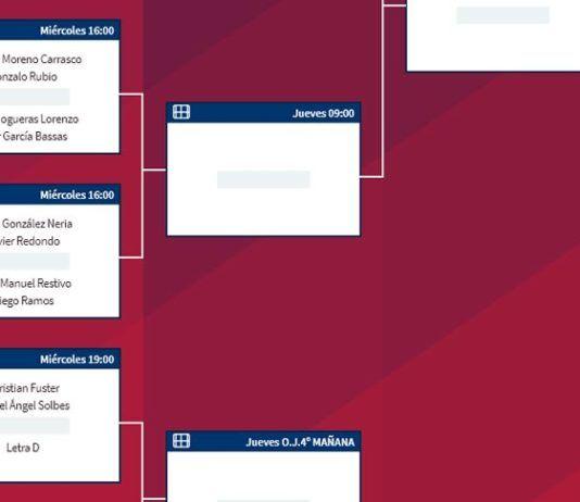 Melilla Challenger: Ordre d'avant-match et premier tour