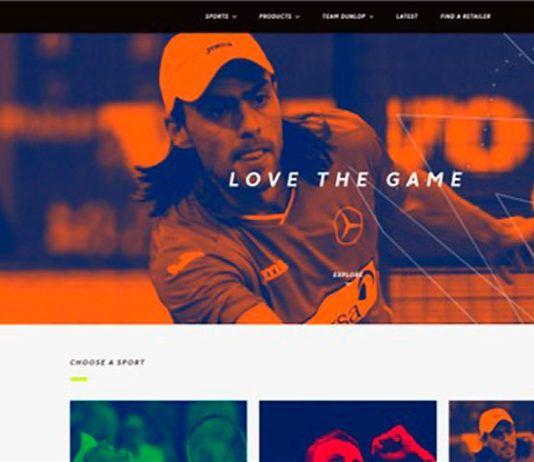 El proyecto de Dunlop se afianza con una página especializada en deportes de raqueta