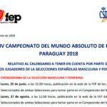 Arrancan los preparativos para el Mundial 2018 de Paraguay