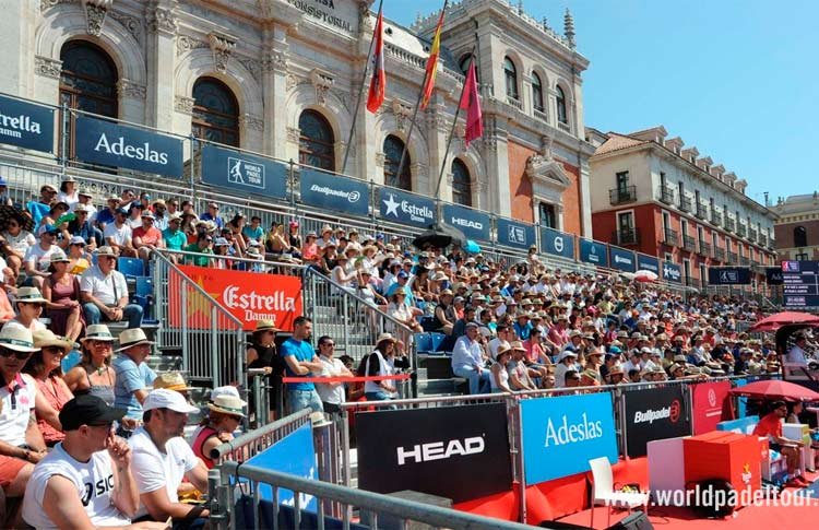 Valladolid para el World Padel Tour 2019.