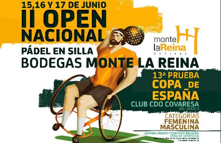 Valladolid, comprometido con el Pádel en Silla de Ruedas