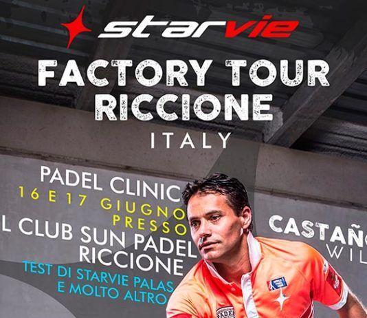 Italia, nueva sede internacional del StarVie Factory Tour