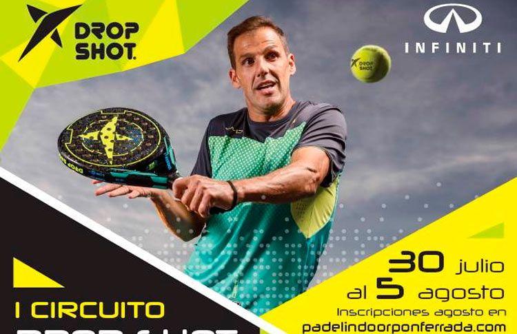 Ponferrada albergará una nueva prueba del Circuito Drop Shot - Infiniti