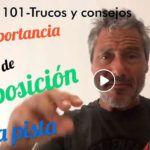 Consejos-Trucos de Miguel Sciorilli (101): La importancia de la posición en la pista